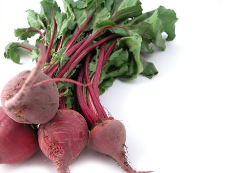 rote: A fresh bunch of beetroot, ready to cook!