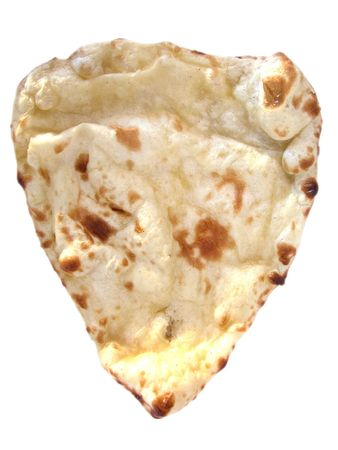 Series of indian dishes - naan bread