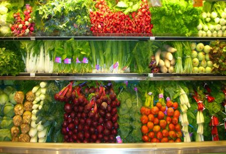 asian produce: vegetables