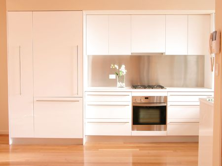 Kitchen Interior - minimalist, zen style