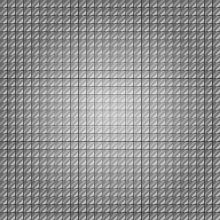 brushed aluminum: The background is composed of metal plates, steel color