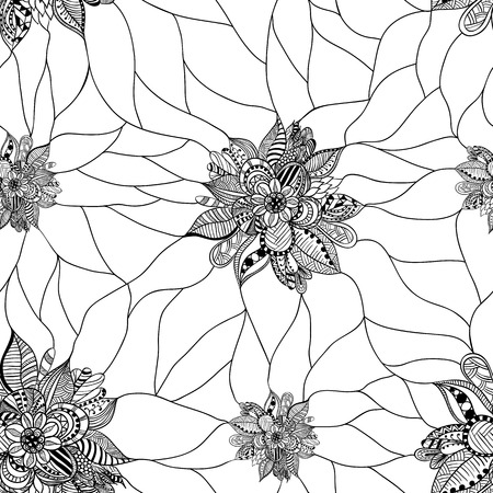 floral elements: The background is from Doodle elements in a mosaic technique