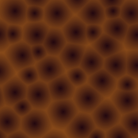 aerated: Abstract pattern, background with brown bubbles, aerated chocolate