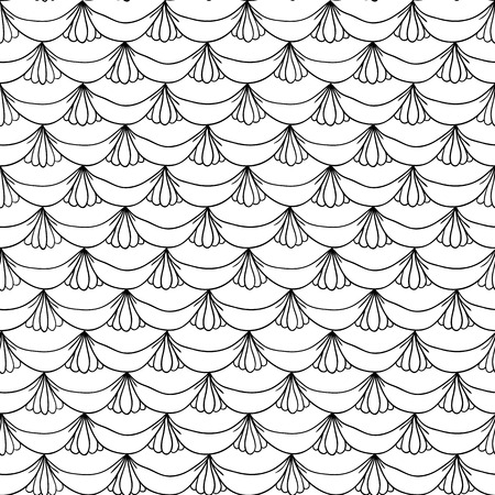 inimitable: Seamless pattern in abstract style Illustration