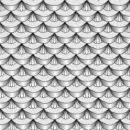 inimitable: Pattern style abstract draperies
