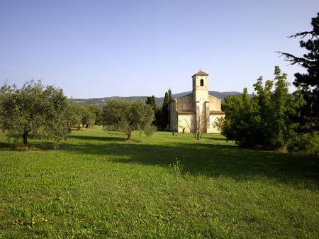 France, Provence, Luberon, Lourmarin: The Protestant Temple  photo