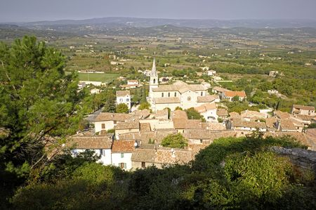 luberon: France, Provence, Luberon: city of Bonnieux Stock Photo