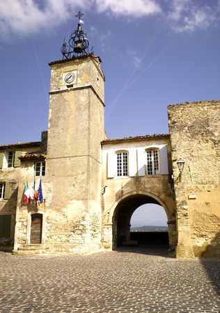 the luberon: France, Provence, Luberon: city of Menerbes Stock Photo