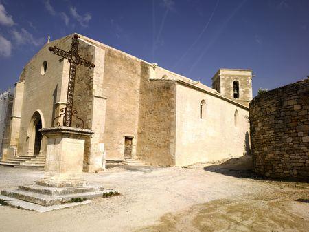 luberon: France, Provence, Luberon: city of Menerbes Stock Photo