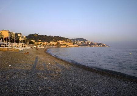 France, Nice :  Beach Panorama  photo