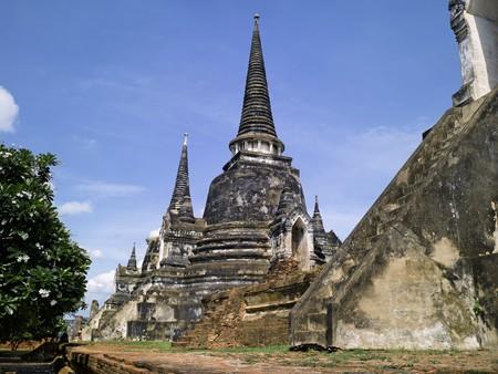 Thailand - Ayutthaya : Wat Phra Sri Sanphet temple photo