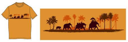 Indian elephants Stock Photo - 7483763