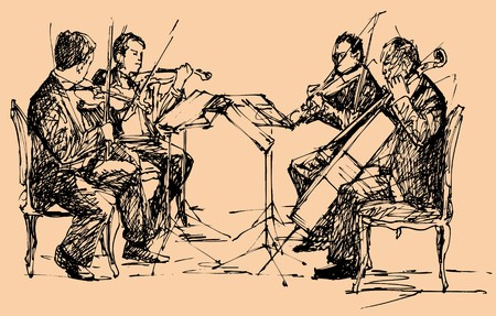 string chamber quartet photo