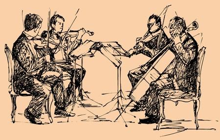 string chamber quartet