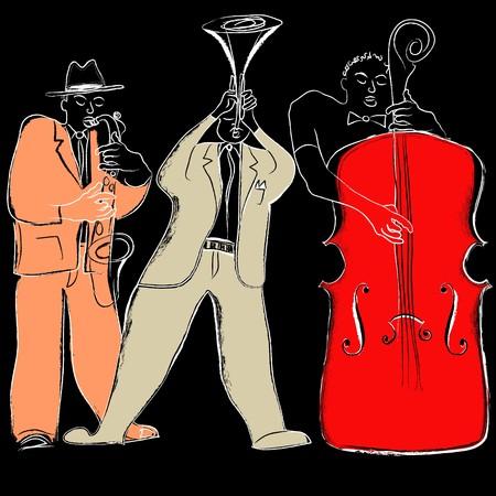 a Jazz band photo