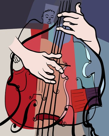 double bass: a double bass composition
