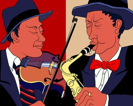 2 つの音楽家