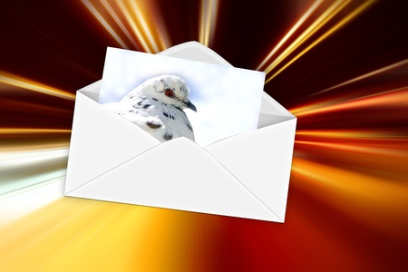 express mail Stock Photo - 9120272