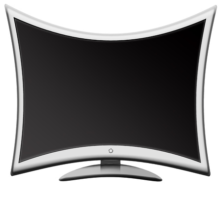 abstract LCD monitor TV  Stock Photo - 9120266