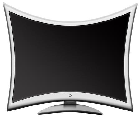 abstract LCD monitor TV Stock Photo - 9120266