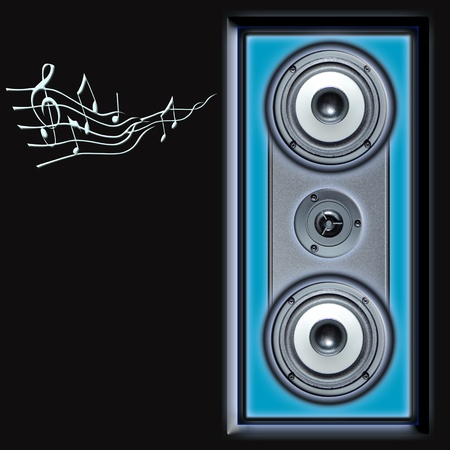 acoustic speakers system Stock Photo - 9120296
