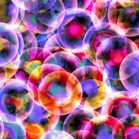 abstract balls design background Stock Photo - 9156321