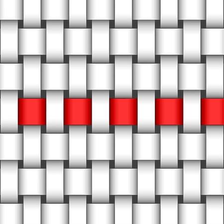 wattle: red ribbon