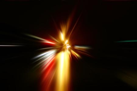 zoom acceleration motion Stock Photo - 9159478