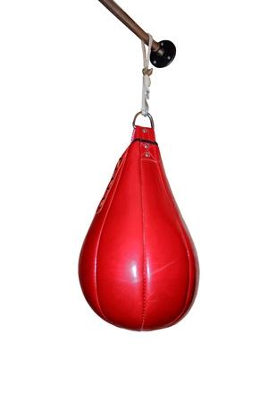 red boxing pear Standard-Bild