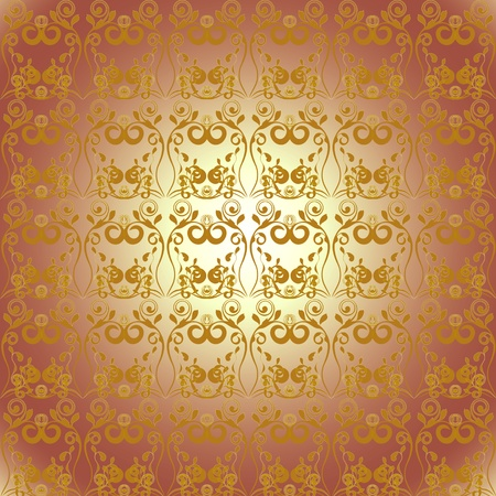 Floral ornament background Stock Photo - 9275576