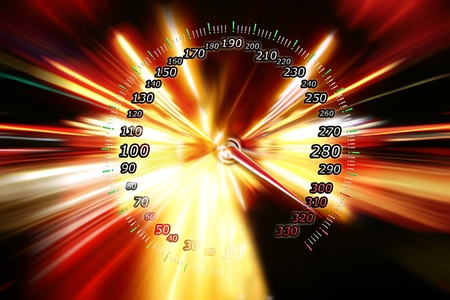 zoom acceleration motion  Stock Photo - 9275715