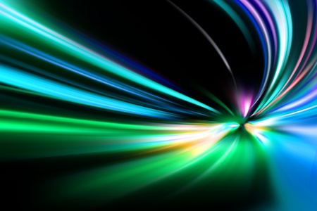 smeared: abstract night acceleration speed motion