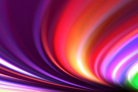 abstract colorful waves Stock Photo - 9483661