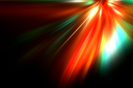 colorful radiant background Stock Photo - 9483657