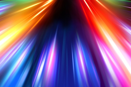 smeared: colorful radiant background Stock Photo