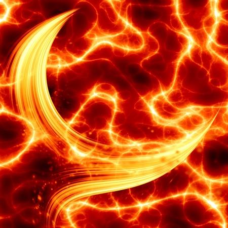 glowing motion plasma Stock Photo - 9847562