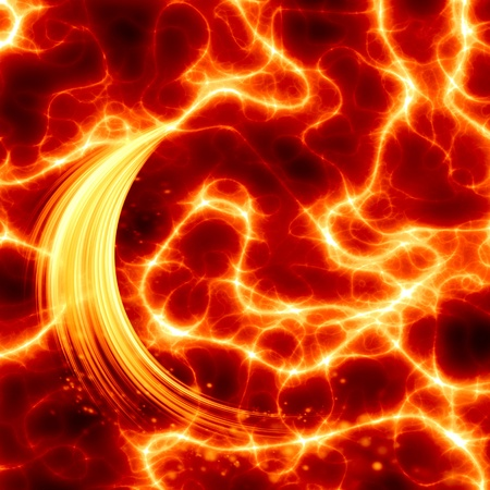 glowing motion plasma Stock Photo - 9847558