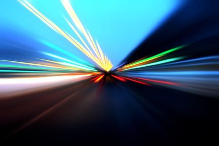 abstract acceleration motion Stock Photo - 9848526