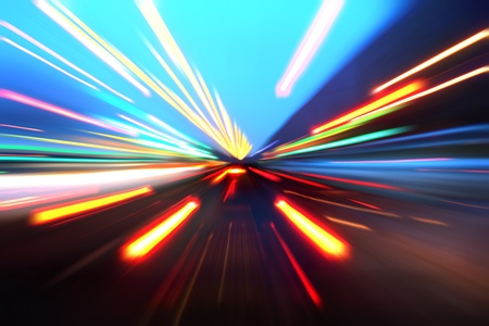 abstract acceleration motion Stock Photo - 9848666