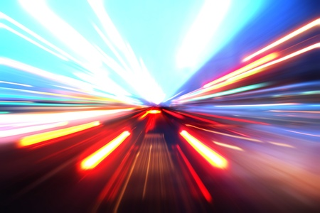 abstract acceleration motion Stock Photo - 9848665