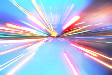 abstract acceleration motion Stock Photo - 9848683
