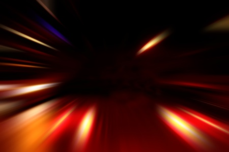 abstract acceleration speed motion on night road Stock Photo - 9848529