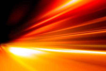 СПИД: Ускорение скорости движения по ночной дороге Фото со стока