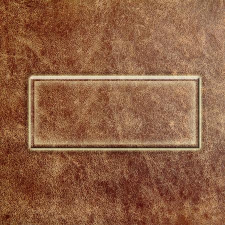 tooled leather: cuoio vecchio