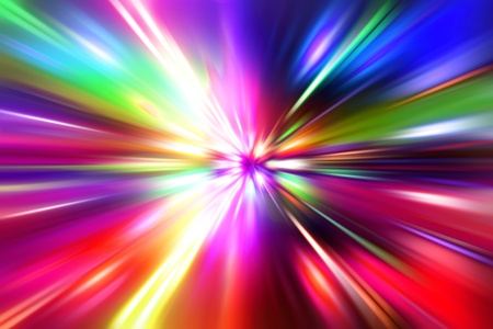 colorful  radial radiant effect Stock Photo - 11896333