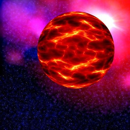 nibiru: Nibiru in space