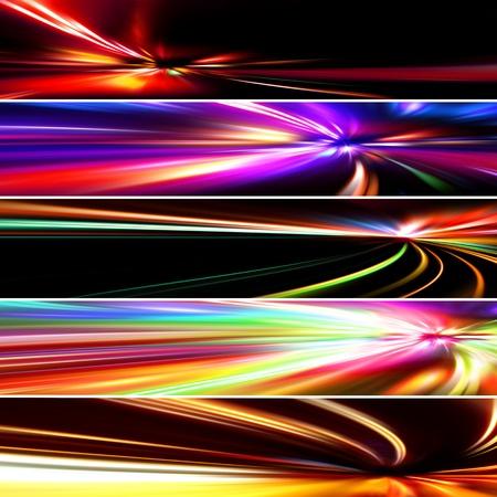 set colorful banners Zdjęcie Seryjne