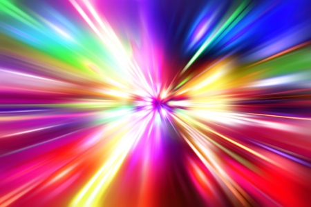colorful  radial radiant effect Stock Photo - 14243899