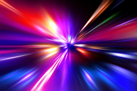 colorful  radial radiant effect Stock Photo - 14287832