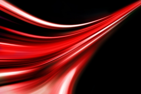 red wave up direction Stock Photo - 16027460